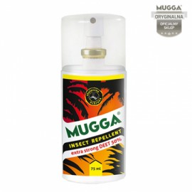 MUGGA SPRAY STRONG 50% DEET 75 ml