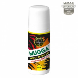 MUGGA MLECZKO STRONG ROLL-ON 50% DEET 50 ml