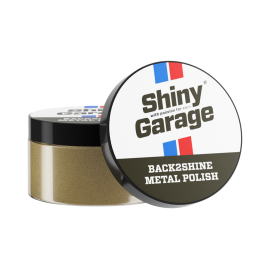 SHINY GARAGE BACK2SHINE METAL POLISH 100G – pasta lekko ścierna do metali